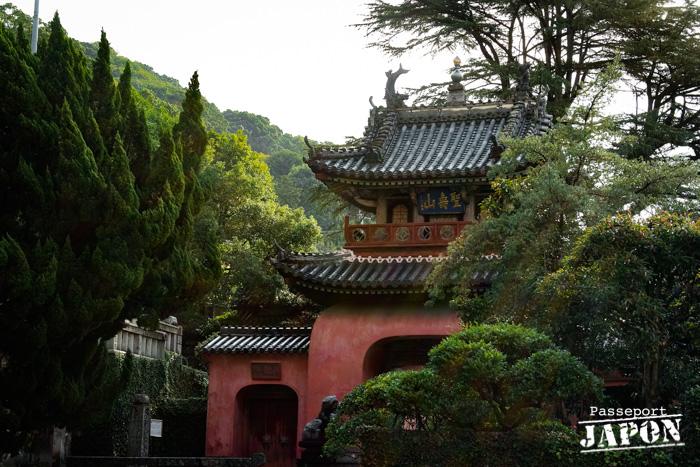 Porte rouge, temple Sôfuku-ji, Nagasaki