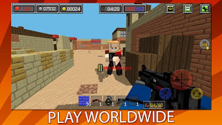 Combat Blocks Survival Online Apk - Free Download Android Game