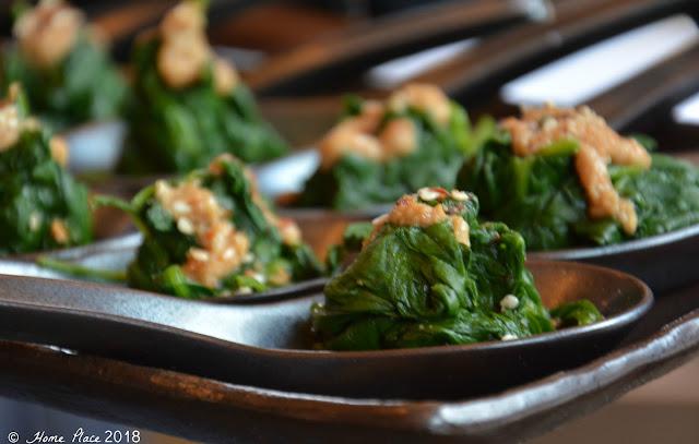 OKO Westport - Spinach Ohitashi Goma-ae
