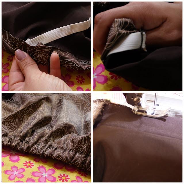 Cómo hacer una falda con resorte