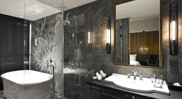 賦樂旅居 Hotel Proverbs Taipei-浴室