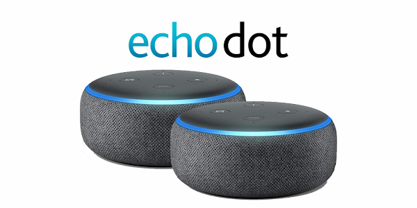 Get two Amazon Echo Dot (3rd Gen) for $50