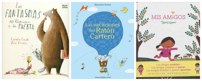 mejores cuentos y libros infantiles del 2016, fantasmas puerta, ratón cartero, amigos