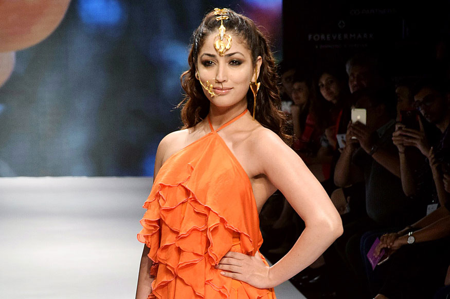 Bollywood Celebrity at India International Jewellery Week 2017