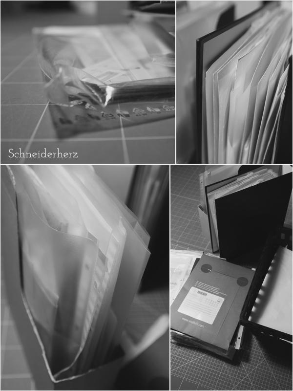 Chaos Schnittmuster Sammlung Ordnung Aufbewahrung