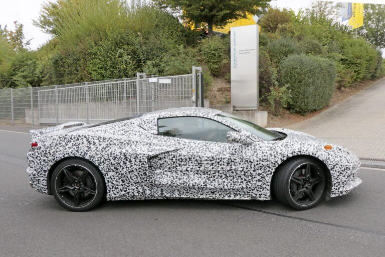 2020 Mid-Engine Corvette Spy Shots | Spotted At The Nürburgring