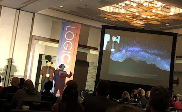 Lawrence Krauss speaks at LogicaLA 2018 conference