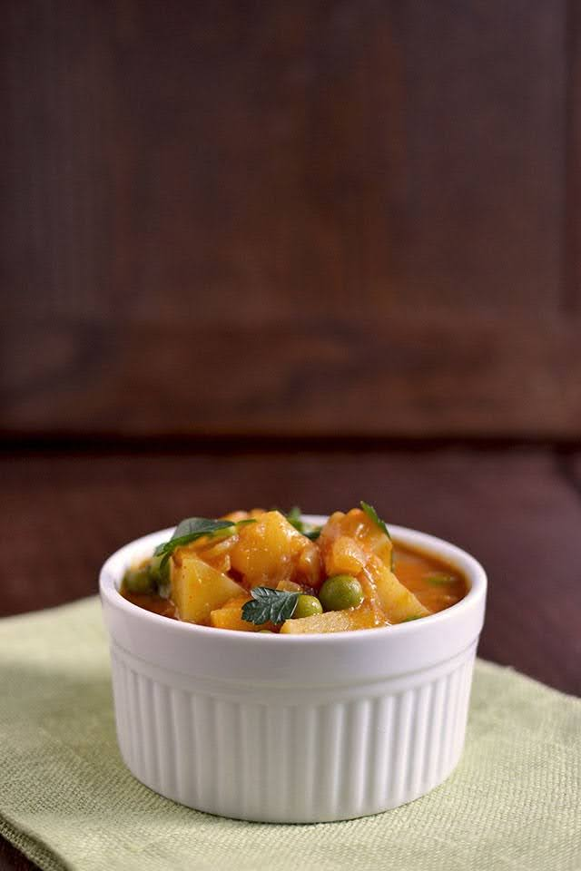 Vegetarian Malaysian Potato Curry Sauce