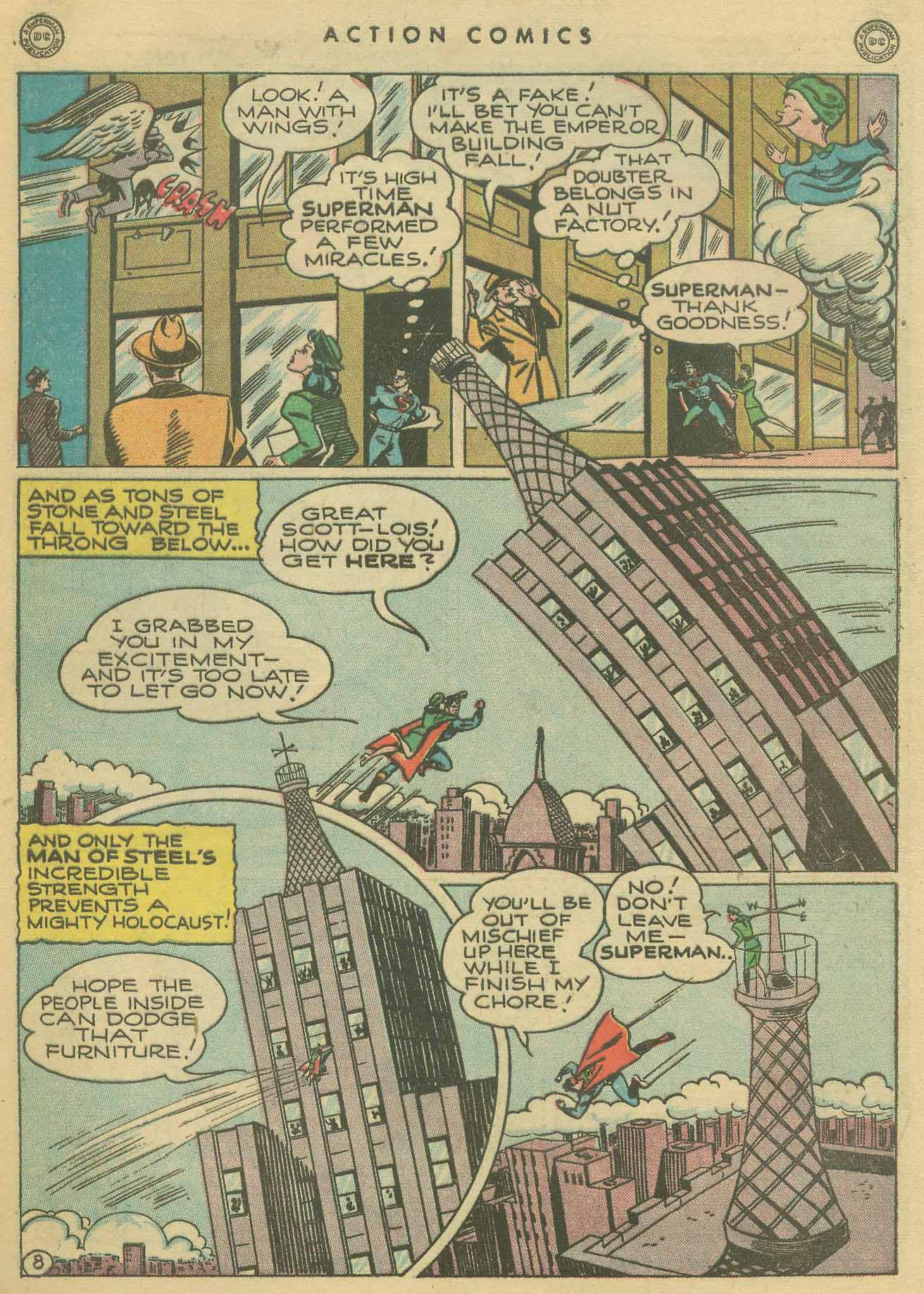 Read online Action Comics (1938) comic -  Issue #102 - 9