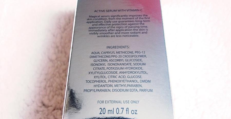 Serum z witaminą C na poprawę stanu skóry oraz kolorytu.