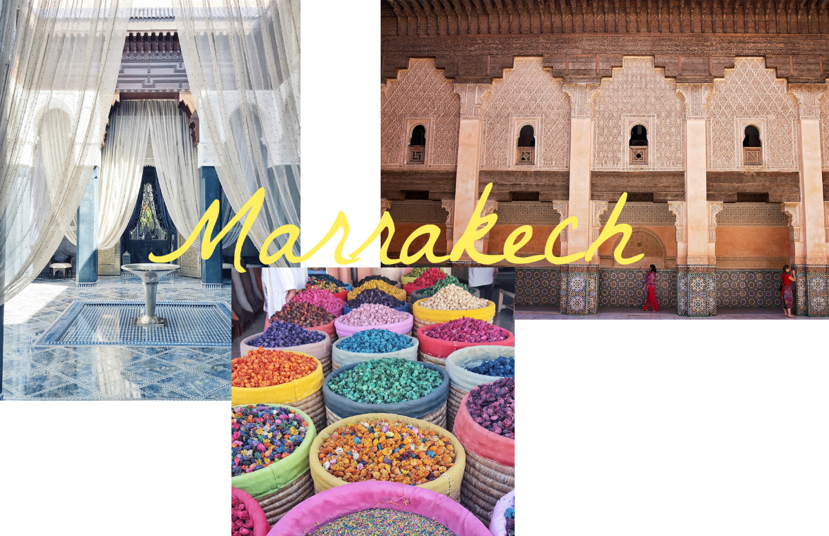 Travel Bucket List 6 places to see in 2017 Marrakesch Marrakech Marokko www.theblondelion.com