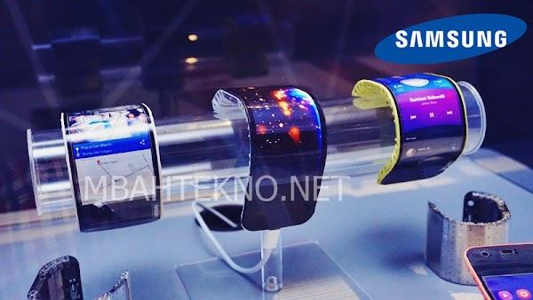 Inikah Smartphone Layar Lipat , Samsung Galaxy X