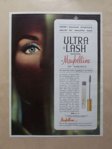 ec231a77f3d Maybelline was one of the first to target their brand to the  African-American population in the 1960's, changing the stereotype image of  the past, ...