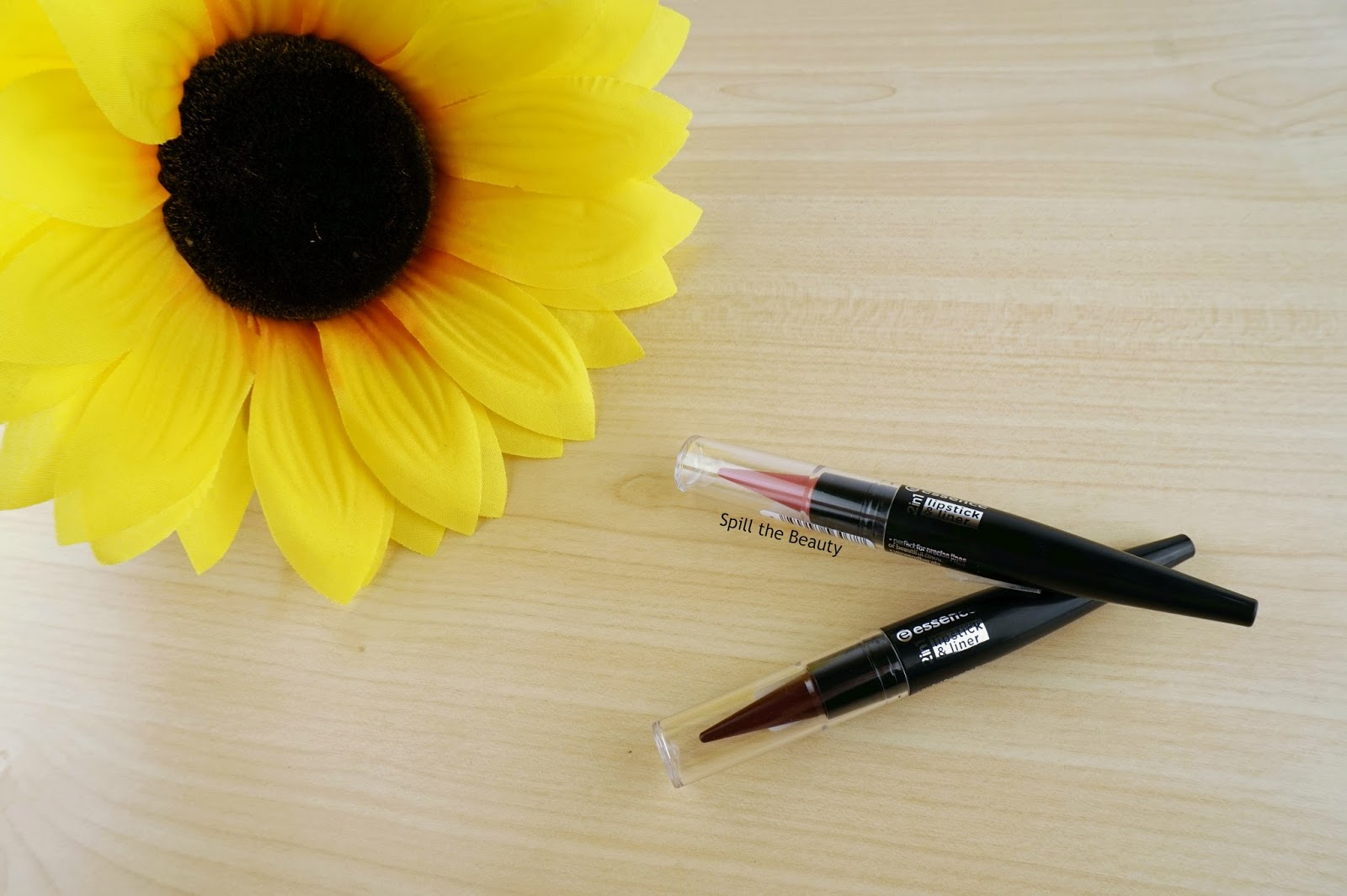 Essence 2-in-1 Lipstick & Liner in 'Vintage Rose', and 'Lush Berry' – Review, Swatches, and Look