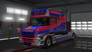 Scania RJL British Metallic Skin