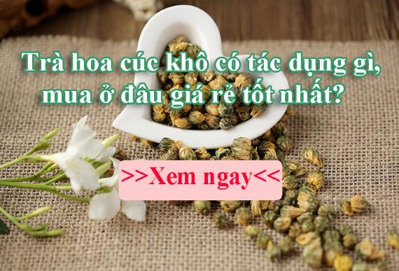 Mua Trà Hoa Cúc Khô Nguyên Bông Ở Đâu Hà Nội