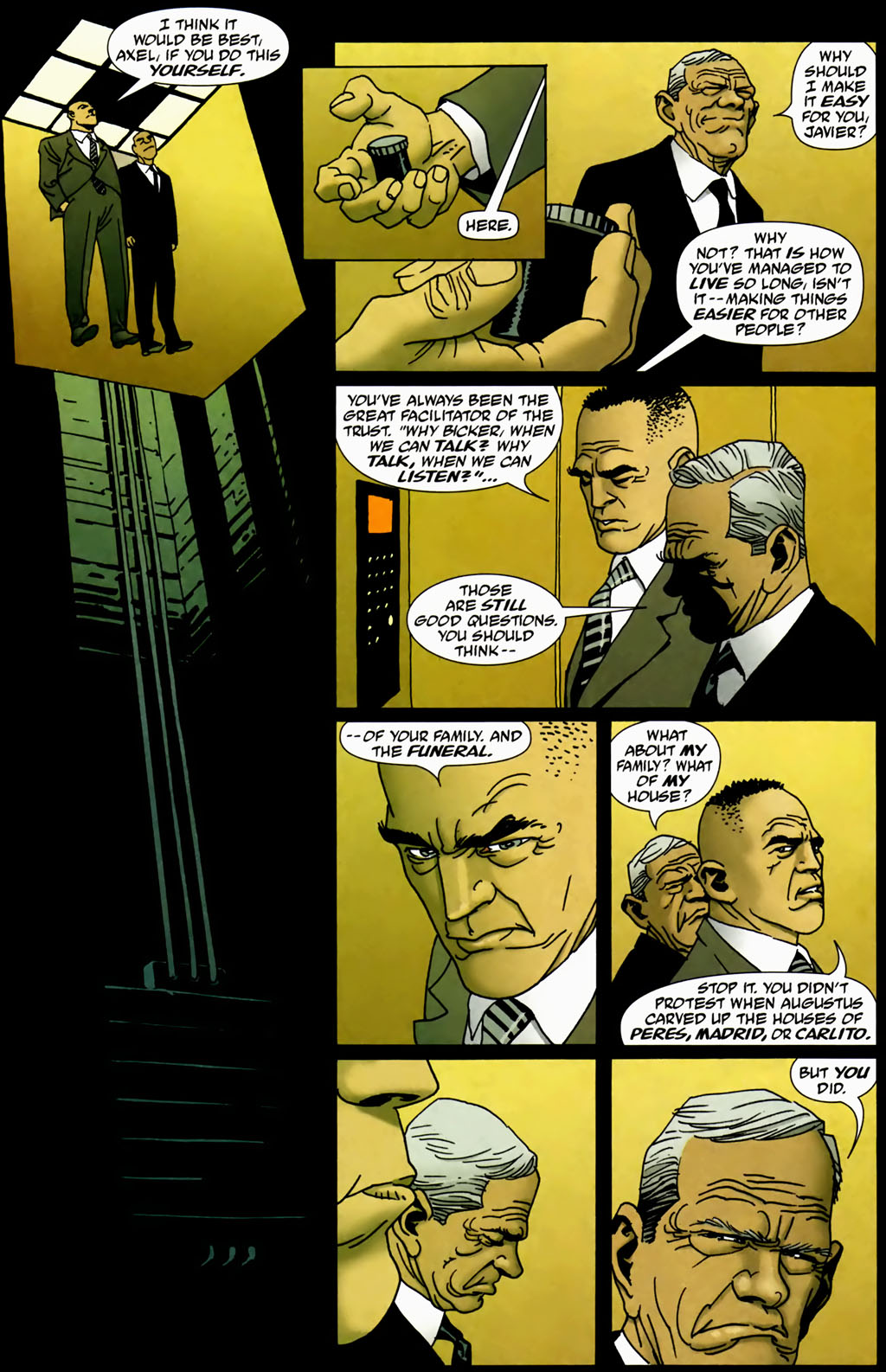 Read online 100 Bullets comic -  Issue #69 - 9
