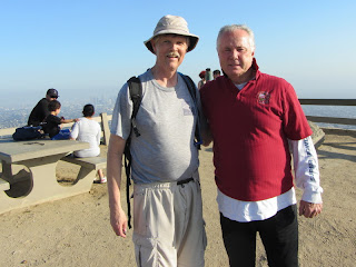 Dan on Mount Hollywood with Councilmember Tom LaBonge