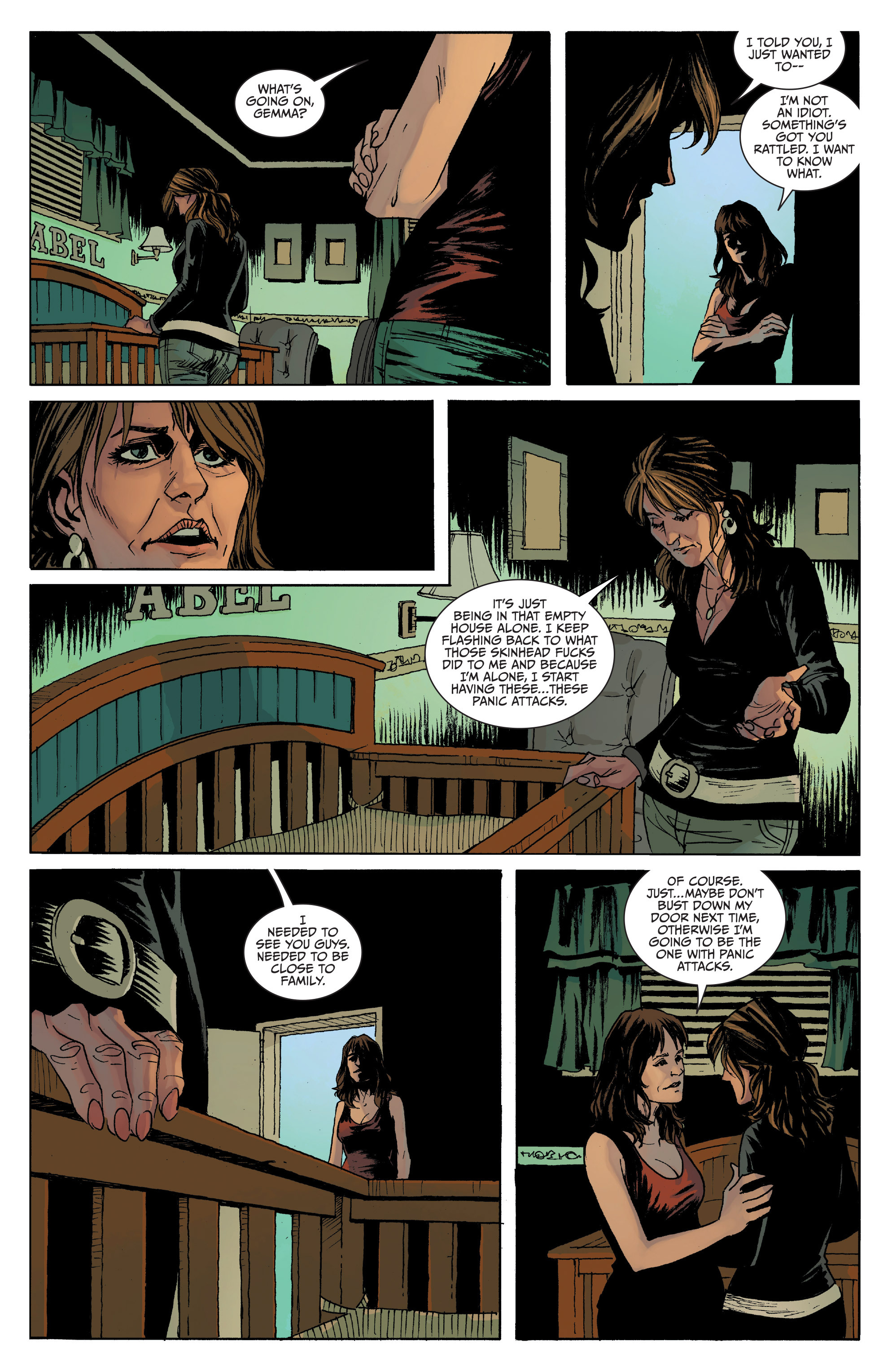 Read online Sons of Anarchy comic -  Issue #8 - 18