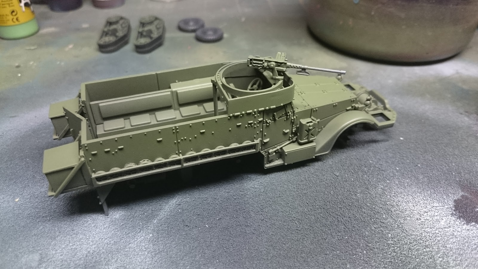 Painting American Tanks for Bolt Action   | Wargaming Hub