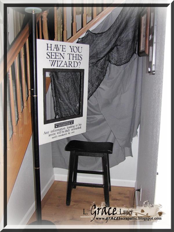 Activit  un photobooth Harry Potter