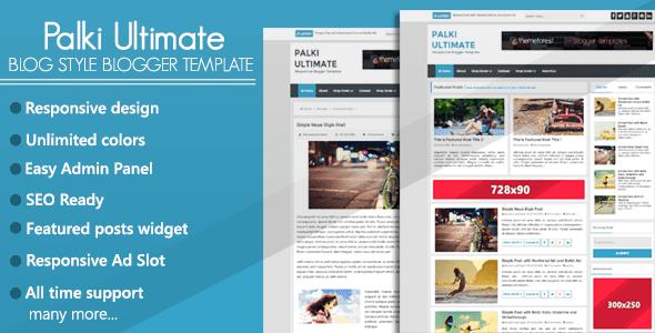 Palki Ultimate adalah template blogger gaya blog SEO responsif dan siap. Jika Anda menjalankan situs blog, maka Palki Ultimate adalah pilihan sempurna Anda untuk situs blog Anda.