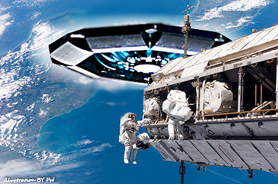 Claims Of UFOs Near Space Station is Crappola, says NASA