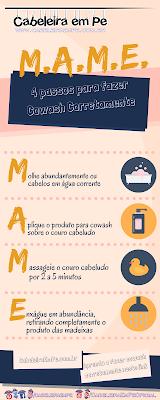 4 Passos para fazer Cowash Corretamente - Método Mame