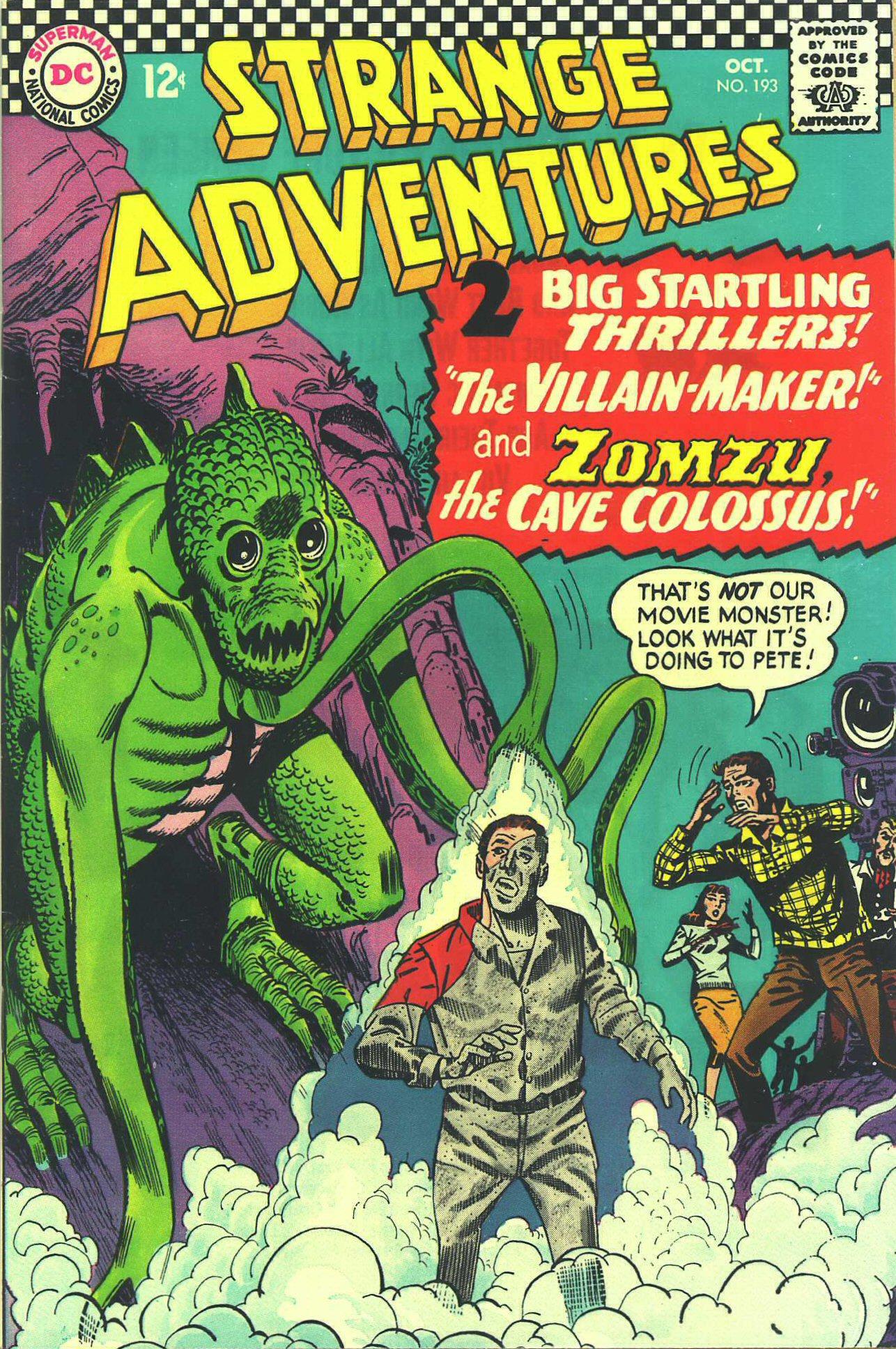 Strange Adventures (1950) issue 193 - Page 1