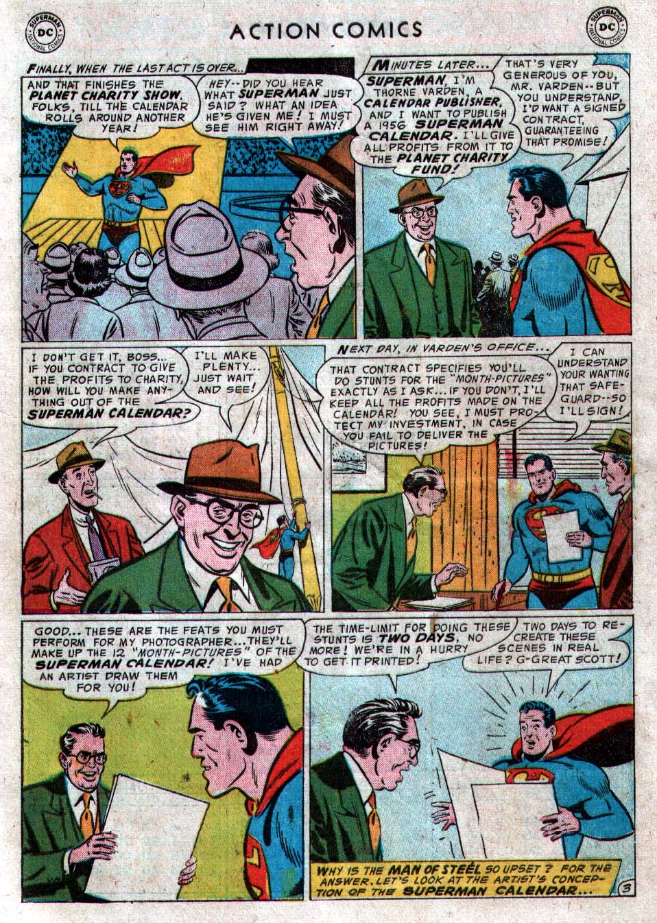 Read online Action Comics (1938) comic -  Issue #212 - 5