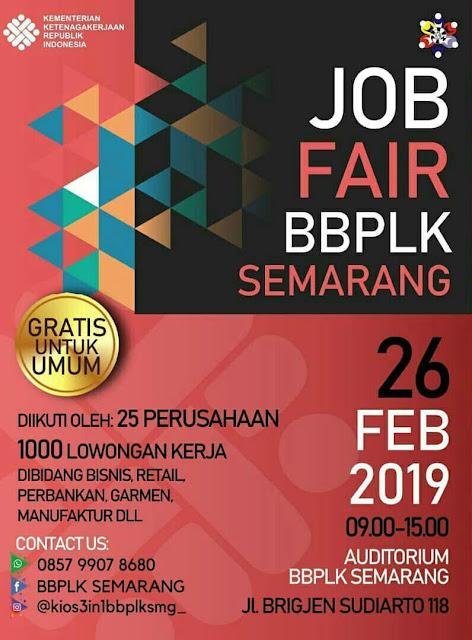 Job Fair Resmi di Semarang 2019