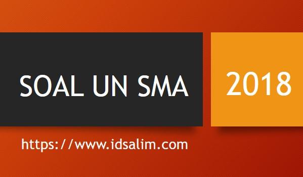 Soal USBN Fisika SMA 2018