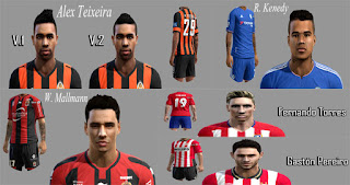 Facepack Internacional V2 Pes 2013 By Piero
