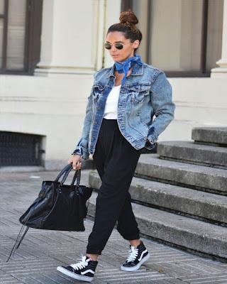 Outfits con jacket de MEZCLILLA casuales de moda