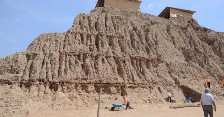 Descubren entierros de mujeres tejedoras en complejo piramidal de Túcume en Huaca Las Abejas - Lambayeque