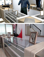 Furniture Interior Untuk Toko Kacamata / Eyewear Display Showcase