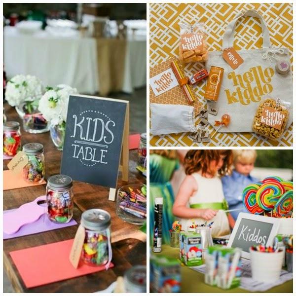 entretener a niños en la boda