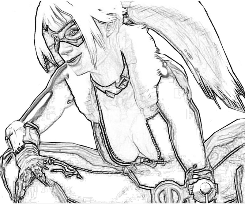 black cat spiderman coloring pages - photo#18