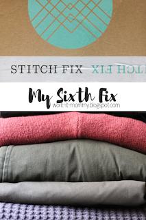 Stitch Fix #6 {the five piecer}