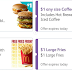 McDonald App Deals: $1 Any Sandwich, $1 Large Fries, $1 Any Size Coffee, & Free Medium Fries with Any Purchase of $1!