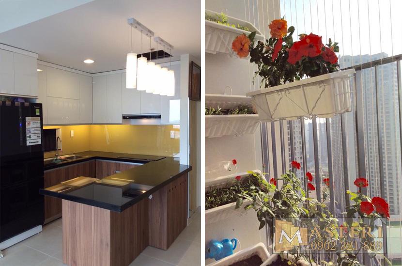 bán căn hộ Masteri 86m2 - 3 phòng ngủ nội thất có sẵn - hinh 3