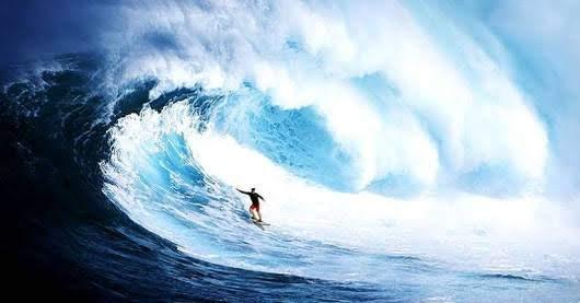 Surga para Surfing Pantai Plengkung Banyuwangi