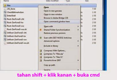 Cara Root Dan Unroot Asus Zenfone 5 Kitkat Via PC