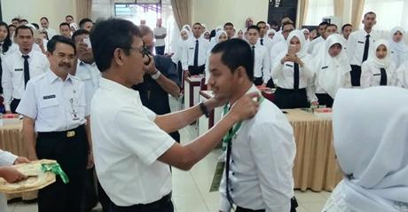 Gubernur Irwan Prayitno Buka Pelatihan Dasar Calon Pegawai Negeri Sipil Golongan III