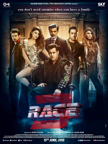 Race 3 new upcoming movie first look, Poster of Salman, Bobby next movie download first look Poster, release date