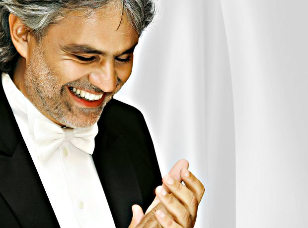 Andrea Bocelli - right chords with music