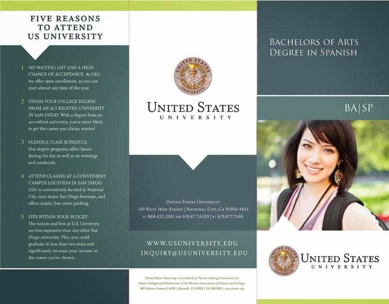 pasti kebanjiran brosur universitas baik negeri atau swasta Membuat Brosur Bahasa Inggris + Contoh LENGKAP!