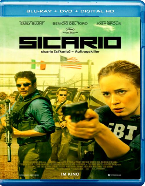 Sicario [2015] [DVDR] [NTSC] [Latino] [Remasterizado]