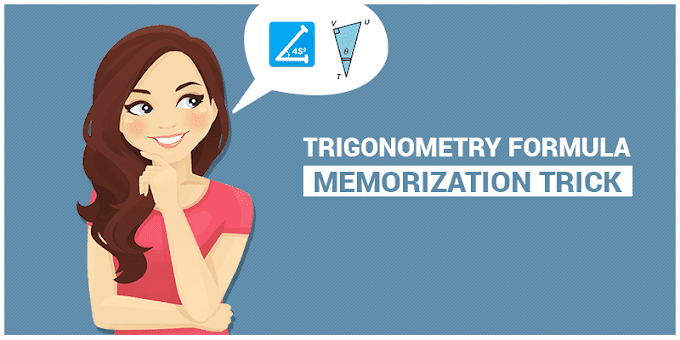 Trigonometry Formula Memorization Trick