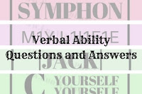 Verbal Ability Questions and Answers